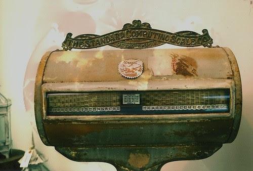 antique scale.