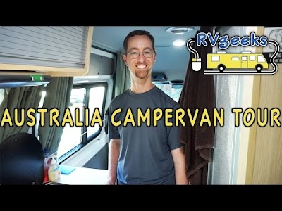 RV Geeks Australia Trip Part II: Australian Campervan Tour, Hook Up & Dump Tanks on an Australian Campervan, Tasmanian Devil Feeding Frenzy, Snorkeling the Great Barrier Reef, Duck-Billed Platypuses,