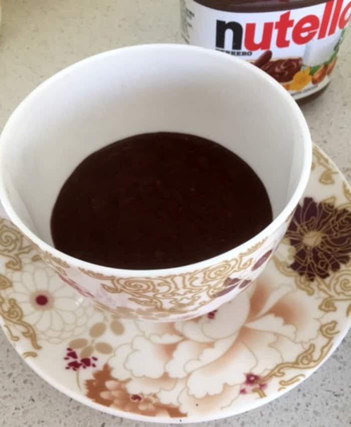 Easy Nutella Mug Cake - Create Bake Make