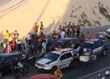 TERROR NA ILHA! Bandidos fazem arrastão na Litorânea
