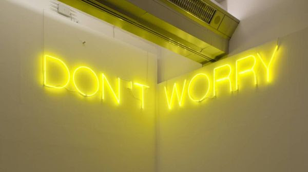 Martin Creed, Work No. 890: DON'T WORRY