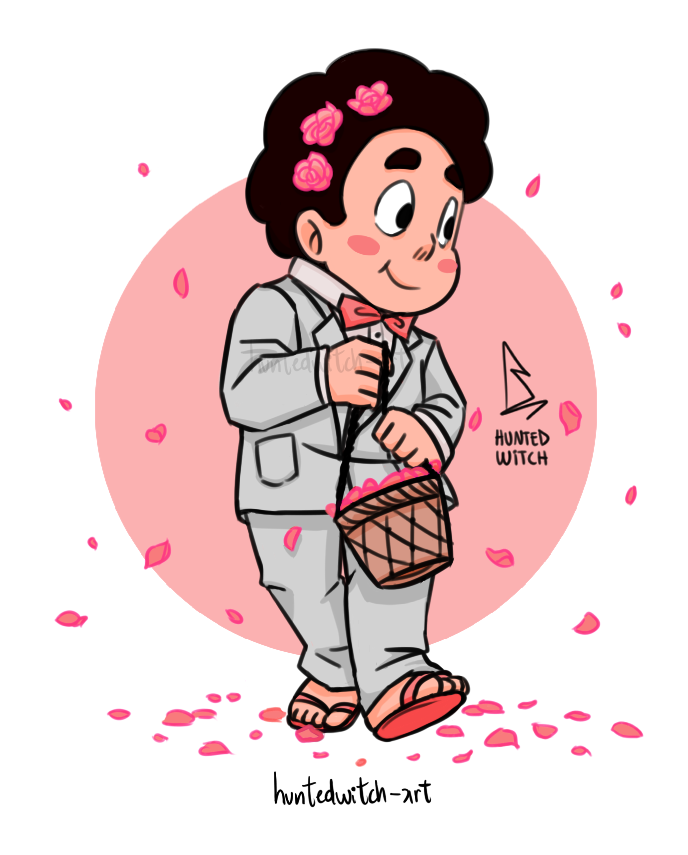 CAN STEVEN BE THE FLOWER BOY AT MY WEDDING PLEASE GOD