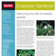 Spring Issue of Extension Gardener is now available