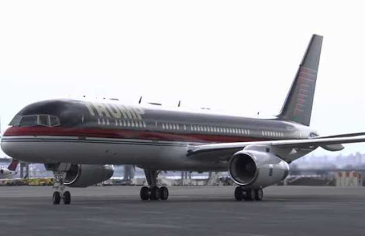 Take a Tour of Trump's $100 Million Private Plane - Unshootables