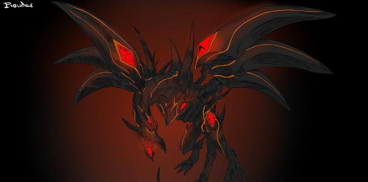 Red Eyes Black Dragon Wallpaper