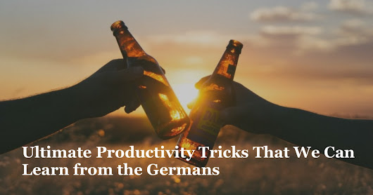 What Germans Get Right About Productivity