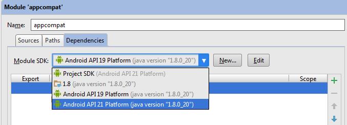 Select API 21 Platform