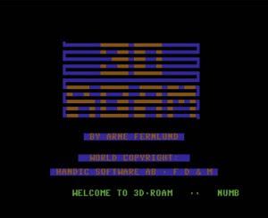 3D Roam - Commodore 64 - (1)