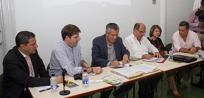 Firmado contrato modificatorio entre Metro Cali y concesionarios de  transporte