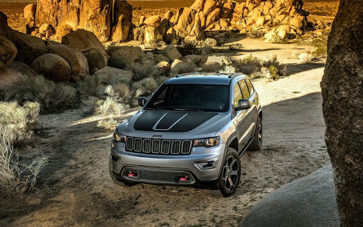 2017 Jeep Grand Cherokee Trailhawk - Perfect Off-Road Vehicle