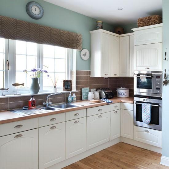 Relaxed nautical-style kitchen   Kitchen   housetohome.co.uk