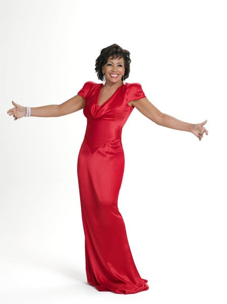 Dame Shirley Bassey-Red Dress