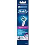 Oral-B - CrossAction Replacement Brush Heads (4-Pack) - White