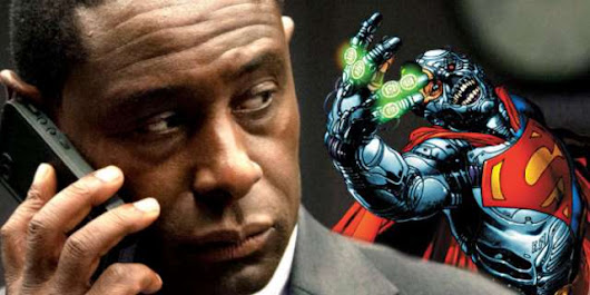 Supergirl's David Harewood Teases Becoming Cyborg Superman