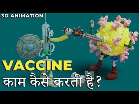 How to work Carona vaccine  in our body.carona vaccine हमारे शरीर में virus को कैसे मारती है।