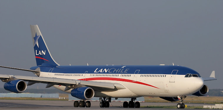 Lan Chile A340
