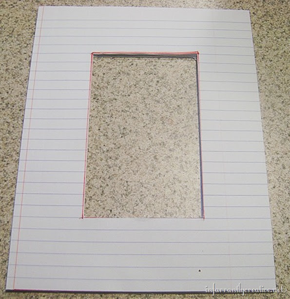 notebook-paper-frame