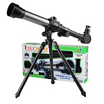 GGIENRUI Kids Telescope Educational Science Toy Telescope for Kids Beginners Astronomy Telescope with Tripod 20X 30X 40X Magnification Eyepieces -
