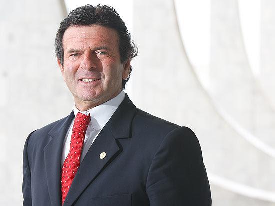 Ministro Luiz Fux no prédio do Supremo Tribunal Federal, em Brasília