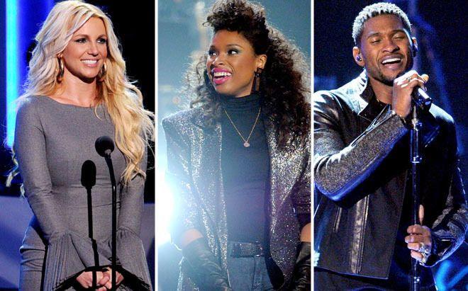 We Will Always Love You: A GRAMMY Salute To Whitney Houston - October 11, 2012, Britney Spears, Jennifer Hudson, Usher