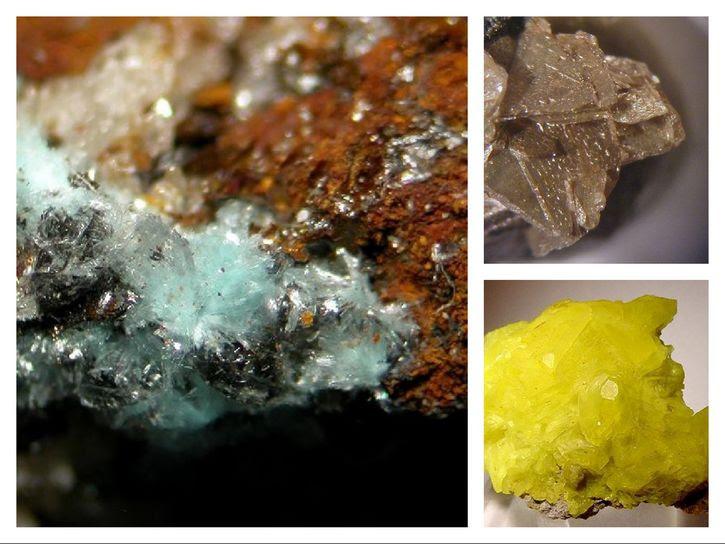 minerales nueva era geologica collage