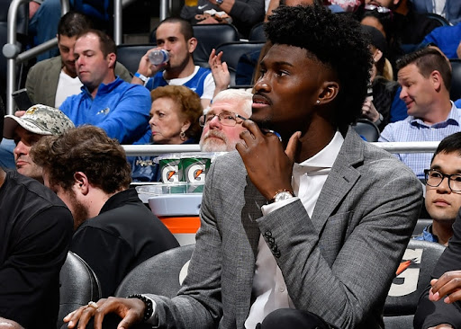 Avatar of Jonathan Isaac Participates in Light Shooting Drills, Happy to Be With Team