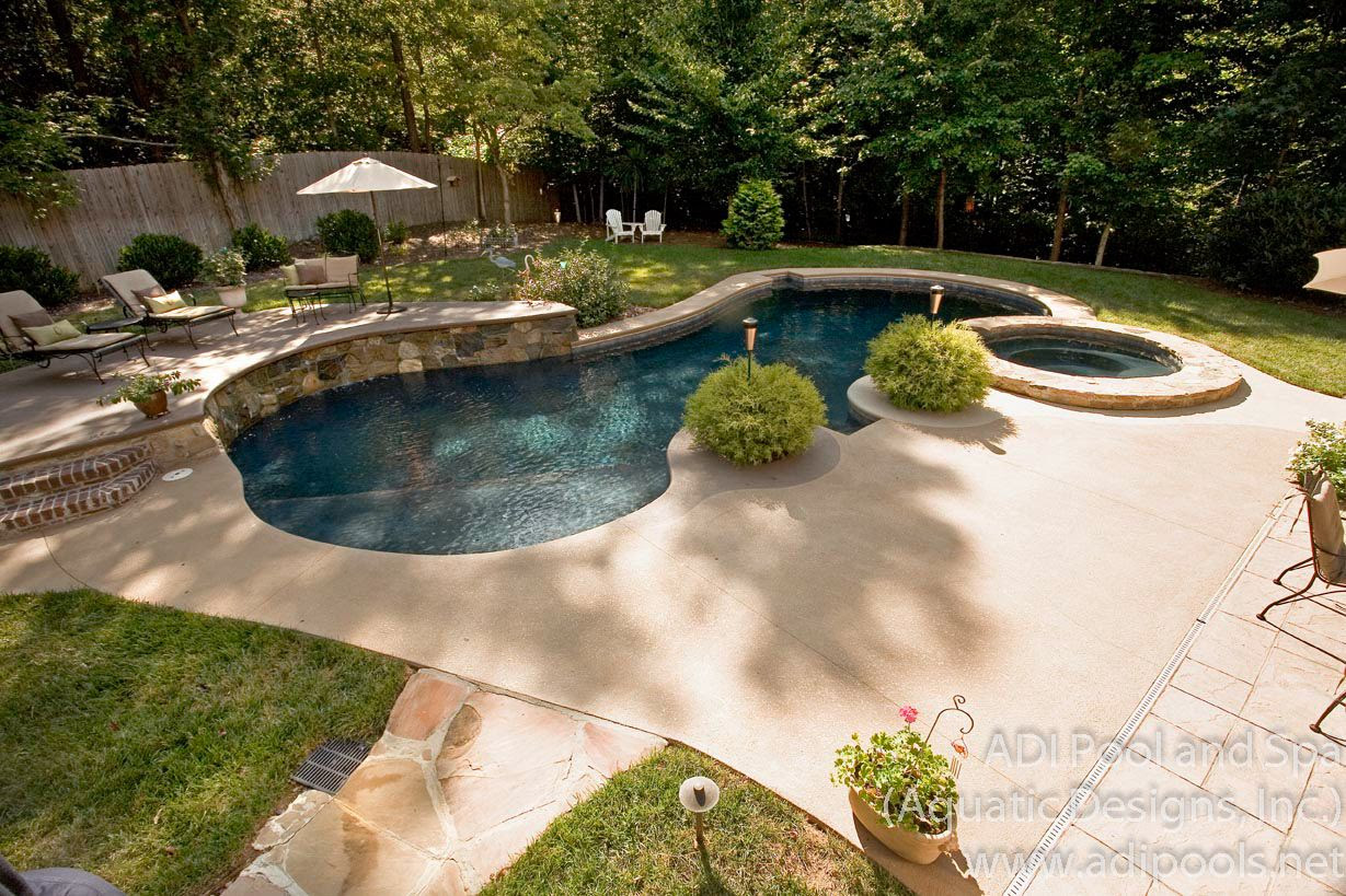 Backyard landscaping ideas with a pool