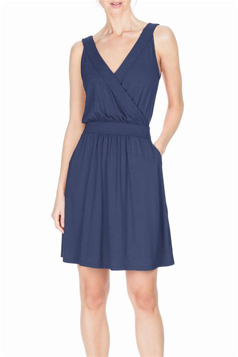 Lilla P Crossed Front Tank Dress from Illinois by Notice
