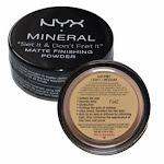 NYX Mineral Matte Finishing Powder - MFP01 Light / Medium