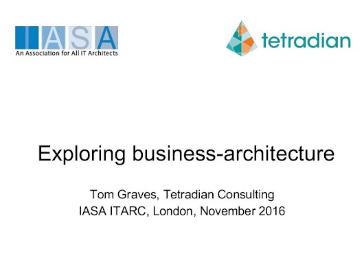 Exploring business-architecture