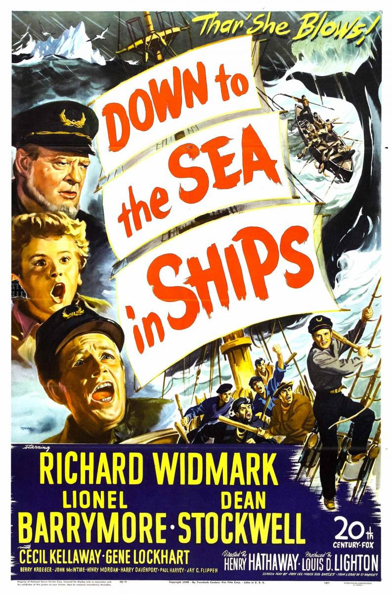 Down to the Sea in Ships Movie Poster