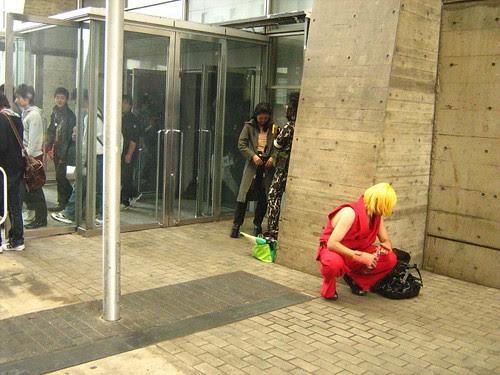Ken from Street Fighter 2