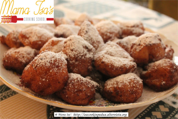 Recipe of the Day: Frittelle alla Veneziana - Mama Isa's Fritters in Venetian style