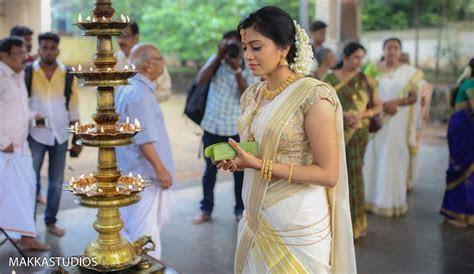 Sshivada Nair   Murali Krishnan Wedding   Wedding dresses
