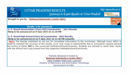 DECLARED: UP Board Result 2017 Class 10 and Class 12 on upresults.nic.in; how to check