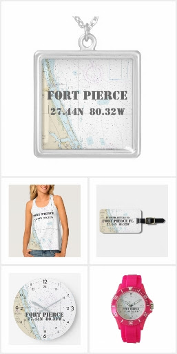 Fort Pierce, Florida Nautical • Latitude Longitude