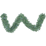 Vickerman C164725LED 9 ft. x 24 in. Oregon Fir Garland with 150 Multi-Colored LED Light