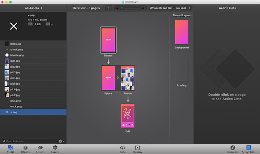 Prototyping with iAd Producer