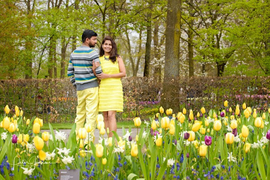 Can you do a photoshoot at the Keukenhof?