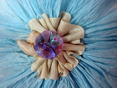 Crepe and Seam Flower Medallions! 10