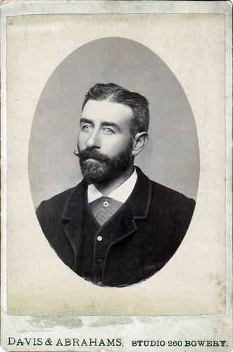 Portrait of man, New York, NY, circa 1890 by boobob92