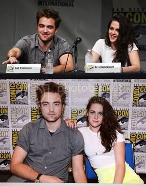Rob and Kristen at ComicCon 2012
