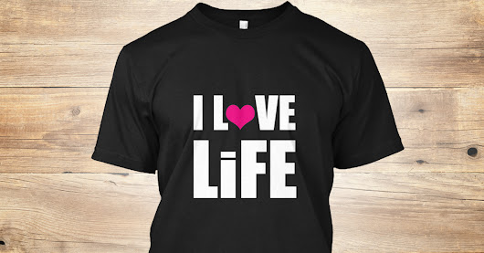 I LoVE LiFE - 1st Edition Tee
