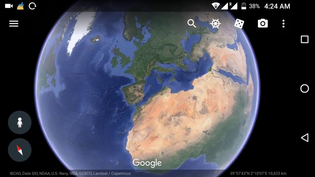 Google Earth Live Satellite Map New Updates Youtube