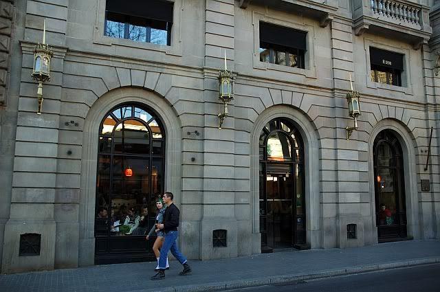 Starbucks Cafe at Las Ramblas, Barcelona