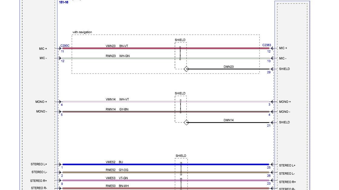 Wiring Diagram  35 2012 Ford F150 Radio Wiring Diagram