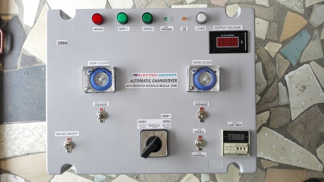 With An Automatic Changeover Switch, You Enjoy Uninterrupted Power Supply.