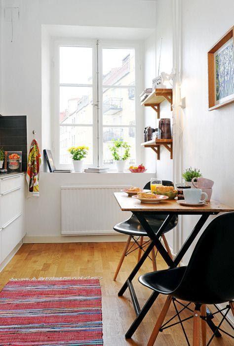 Ideas para reformar cocinas pequeñas kidsandchic