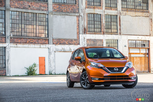 2017 Nissan Versa Note on sale this month from $14,498 | Car News | Auto123