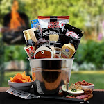 Gift Basket Associates 820832 BBQ Lovers Gift Pail